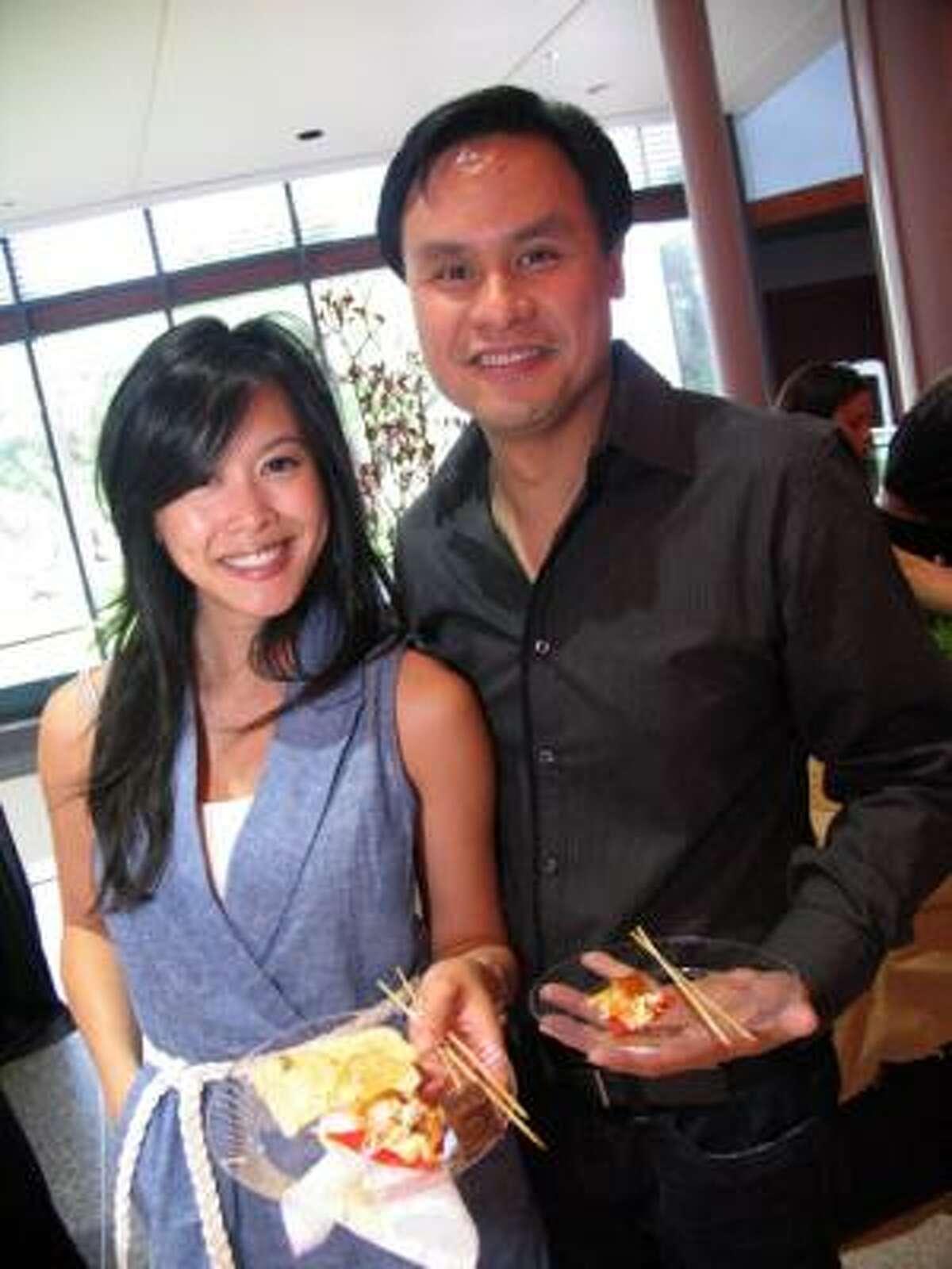 Christina Nguyen, left, and Danny Vu
