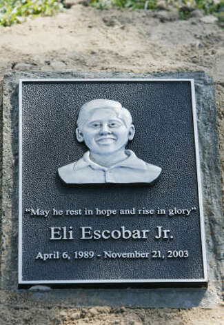Eli Escobar Jr., 14, was shot to death by HPD officer Arthur Carbonneau in 2003 when the teen attempted to leave a friend's apartment while Carbonneau was there investigating a possible disturbance. Photo: Eric Kayne, Chronicle File