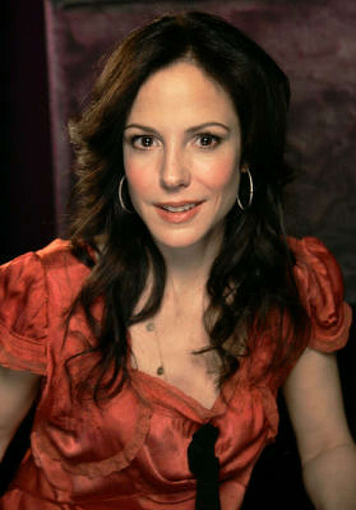 Mary Louise Parker adopted a daughter Caroline