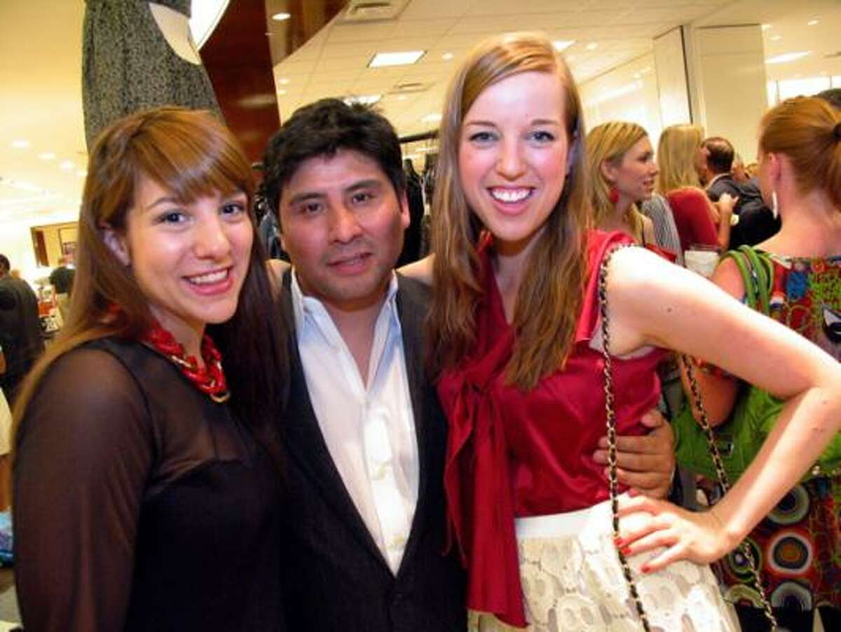 Rachel Orosco, from left, Will Chavez, and Patricia Restropo