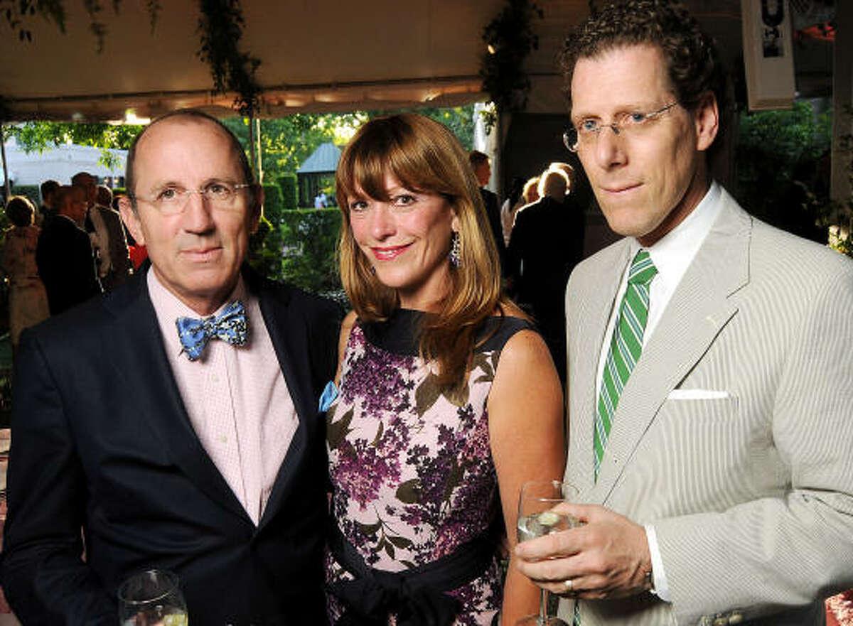 From left: Hiram Butler, Franci Crane and Andrew Spindler