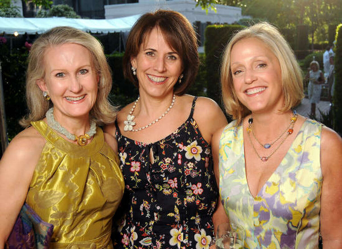 From left: Georgia Harrison, Susan Martin and Jill Imhoff