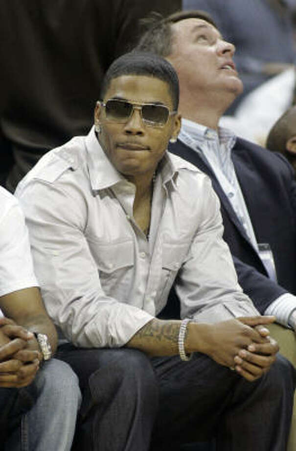 Nelly will appear at The Compound at Hess Club Galleria with Jeezy and LeBron James on Feb. 15.  Photo: Rick Havner, AP