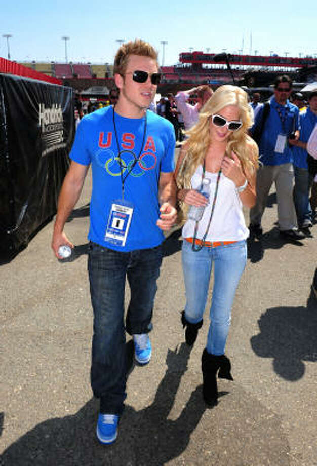 He's also been on Brody Jenner's Princes of Malibu. Photo: Robert Laberge, Getty Images For NASCAR