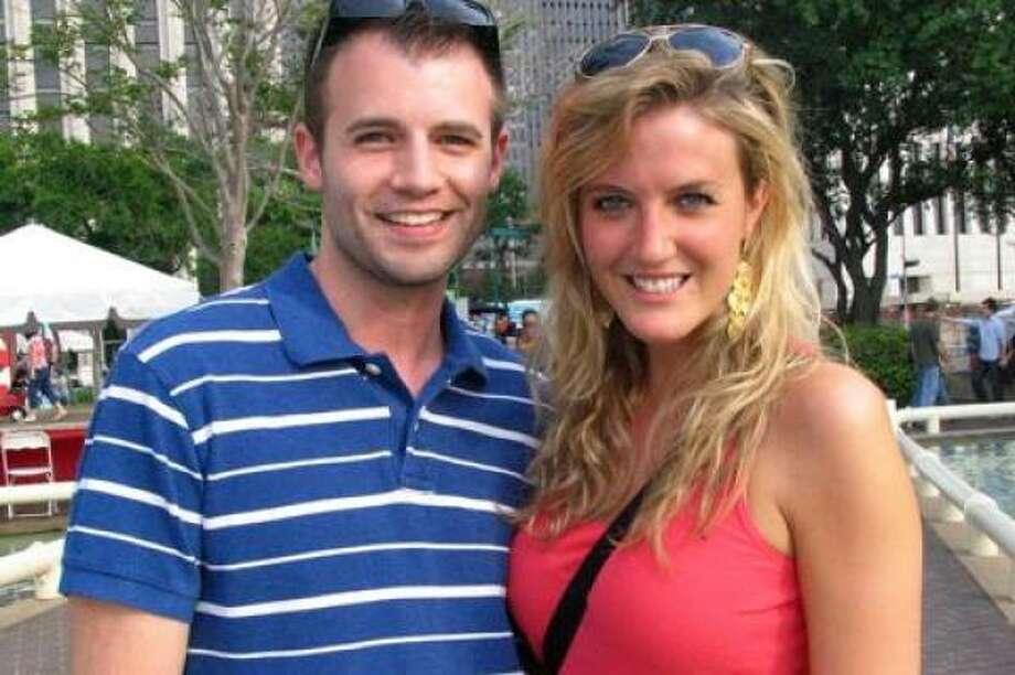 Justin Smith, left, and Franceska McCaughan Photo: Jordan Graber, For The Chronicle