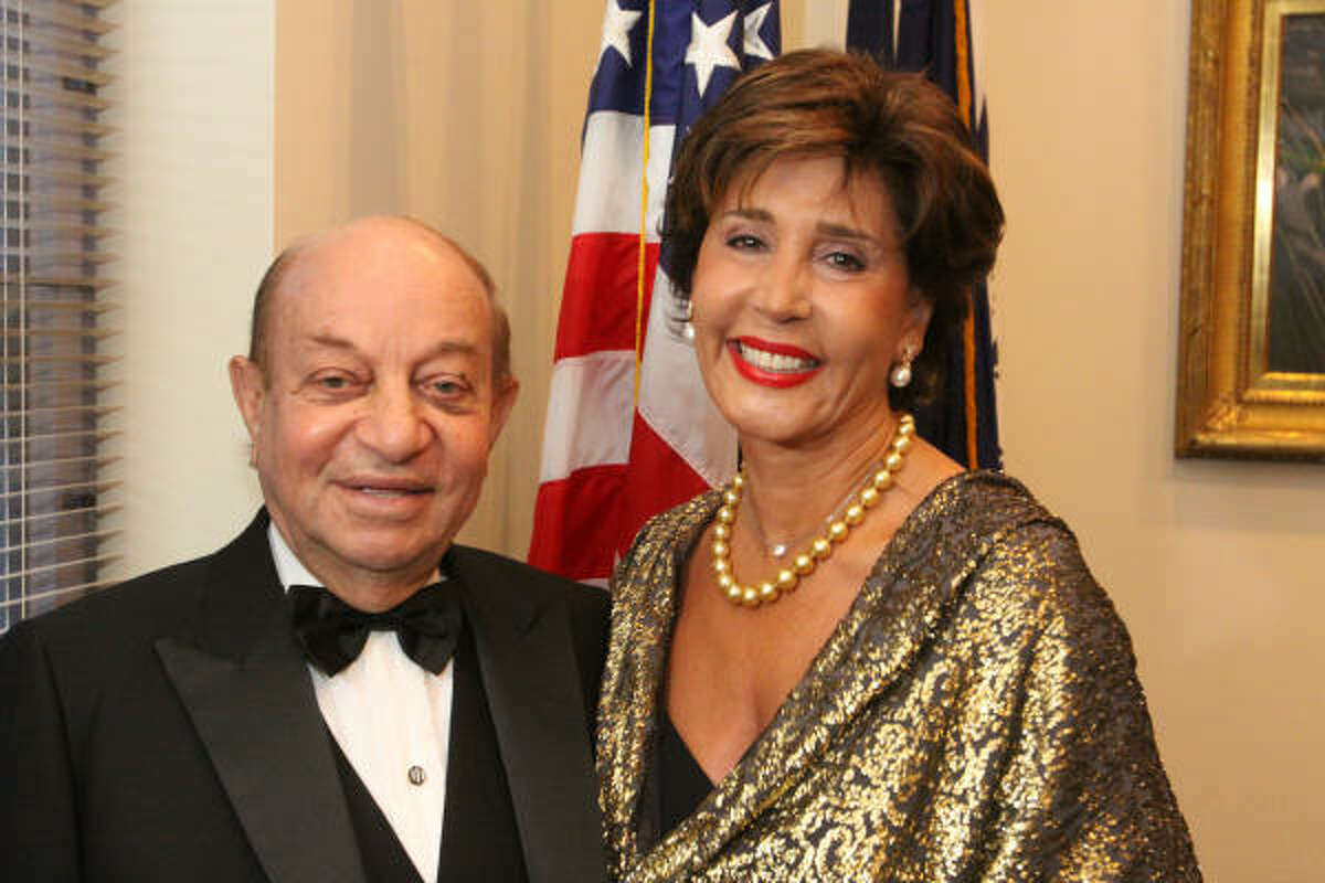 Hushang and Shahla Ansary were the event's honorary chairs.