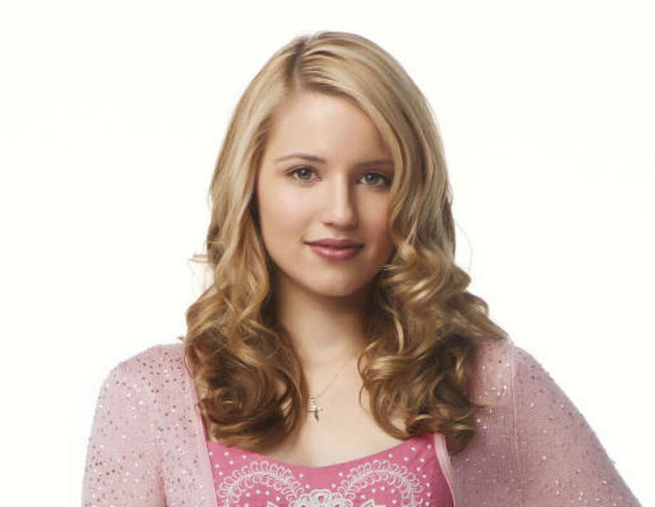 The hit show Glee has inspired fashions such as Dianna Agron's preppy character Quinn to... Photo: FOX