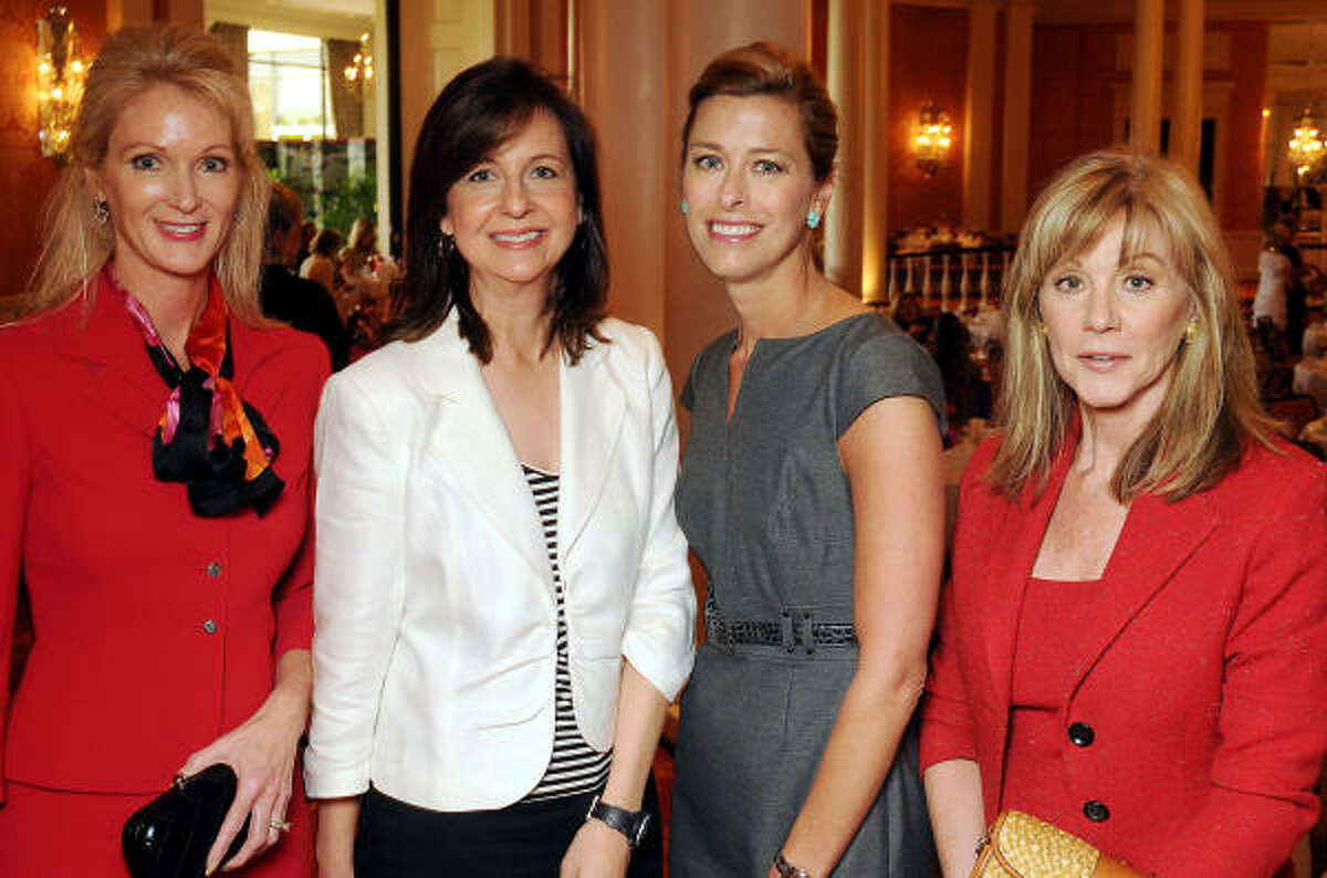 From left: Deana Anderson, Anne O'Conor, Susan Lawrence and Nancy Lane