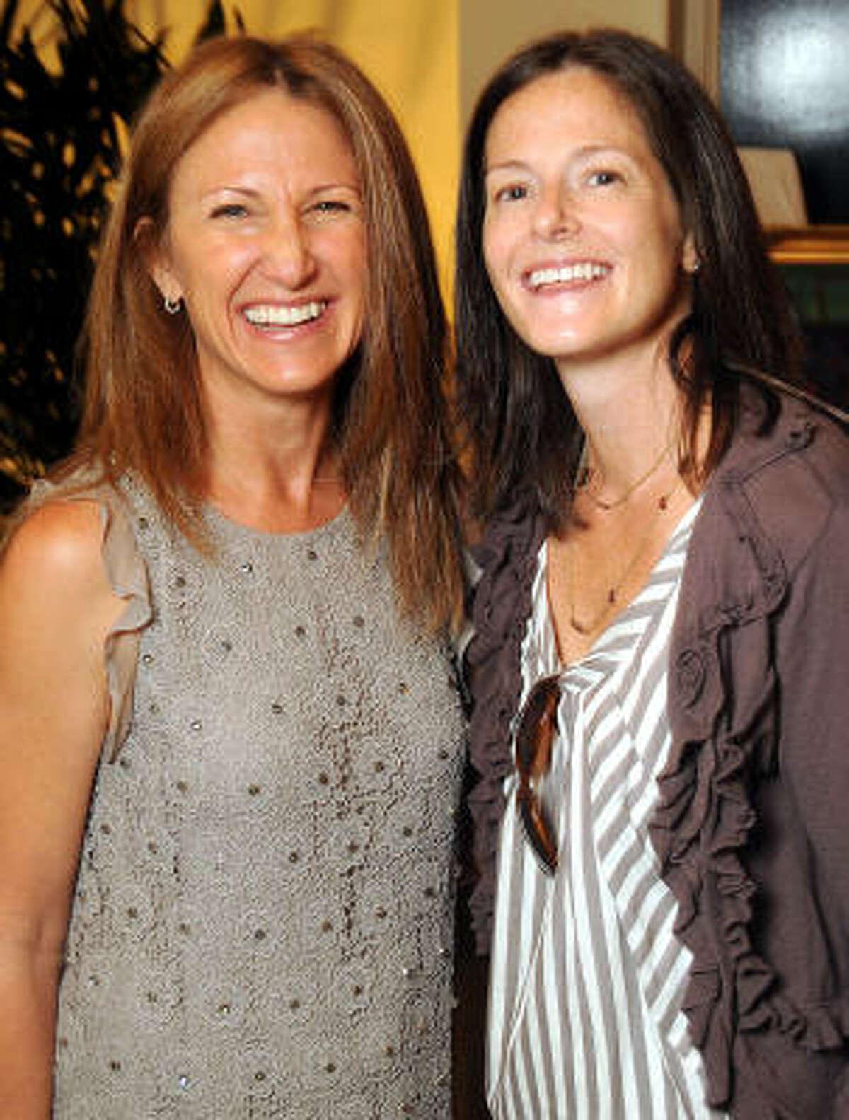 Susan Hansen and Ann Overstreet