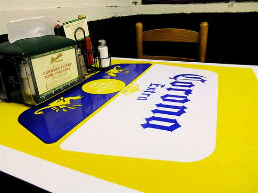 Tabletop at Goode Co. Taqueria.
