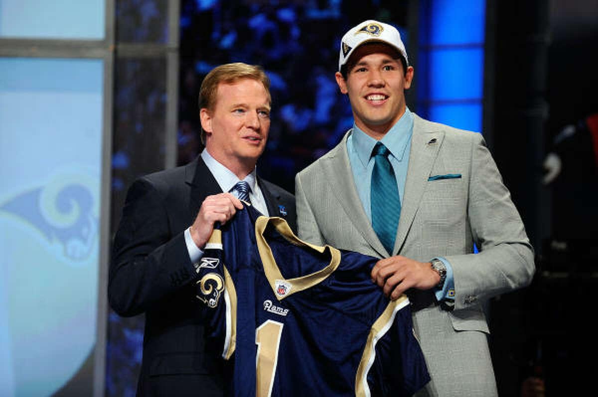 Pick No. 1: Sam Bradford Rams, QB, Oklahoma Sooners