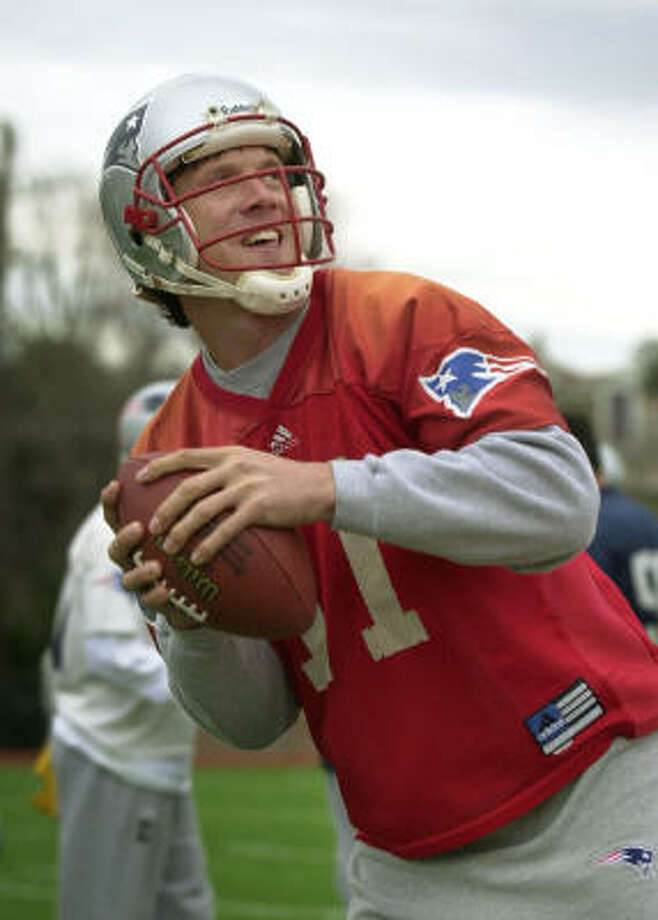 As a pro football quarterback, Drew Bledsoe was the face of the New England Patriots before the Tom Brady era. The Pro-Bowler was the No. 1 NFL draft pick in 1993. Photo: STEVEN SENNE, AP