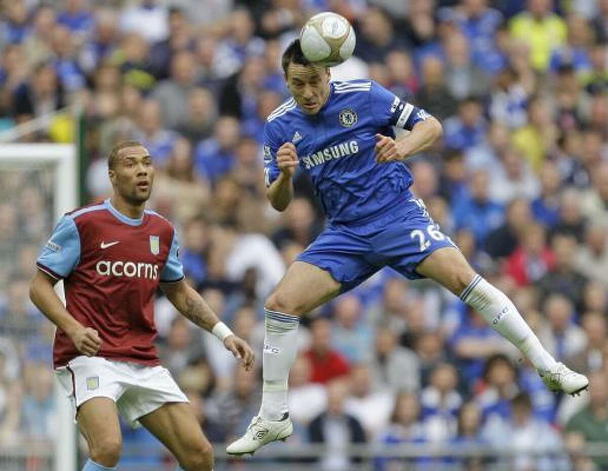 No. 8 - John Terry, Chelsea $16 million Big Englishman anchors the defense for club and country.