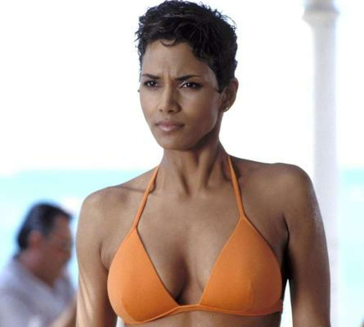 Halle Berry We know she's beautiful. Apparently it's nothing new, as the Oscar-winning actress was on the beauty pageant circuit - Miss Ohio, Miss World, Miss Teen All-American, Miss Ohio. She was first runner-up in the Miss USA pageant in 1986.