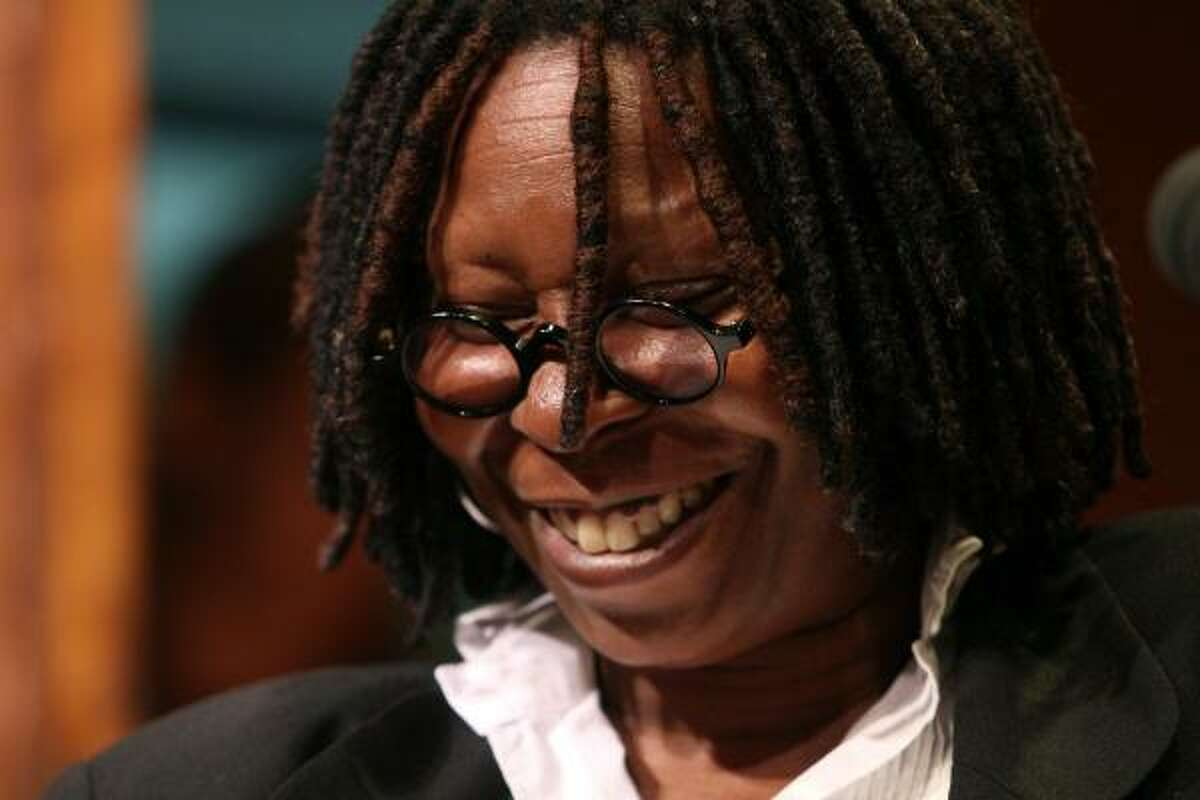 Whoopi Goldberg The irreverent comedian got a job doing makeup for corpses at a mortuary because she was a trained beautician.