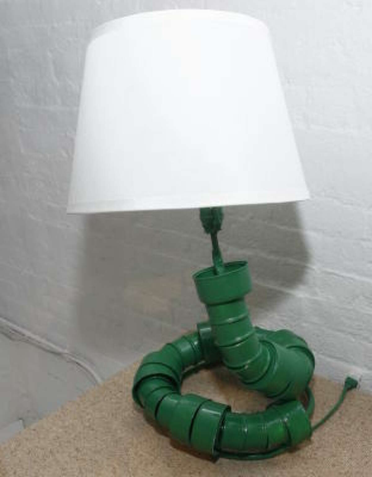 The lamp.