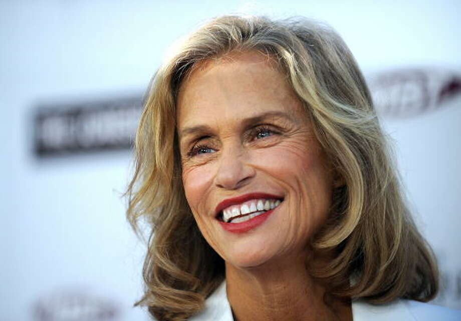 Lauren Hutton has been a model and actress forever, and looks great in her 60s. Read an interview with her here. Photo: GABRIEL BOUYS, AFP/Getty Images
