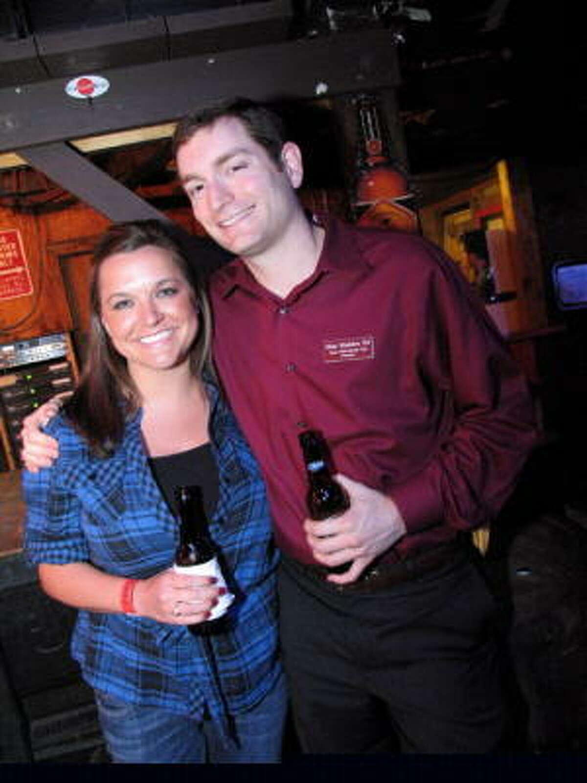 Ashley Cassel, left, and Matt Madox