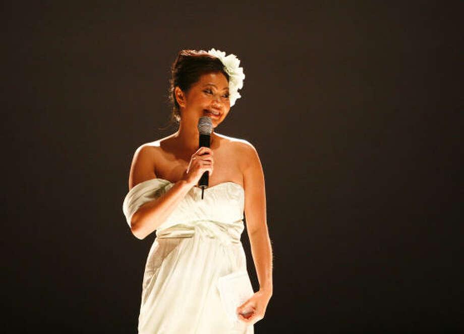 "Chloe Dao's presented her ""Lightness"" Spring 2010 Fashion Show at Warehouse Live. Photo: Michael Paulsen, Chronicle"