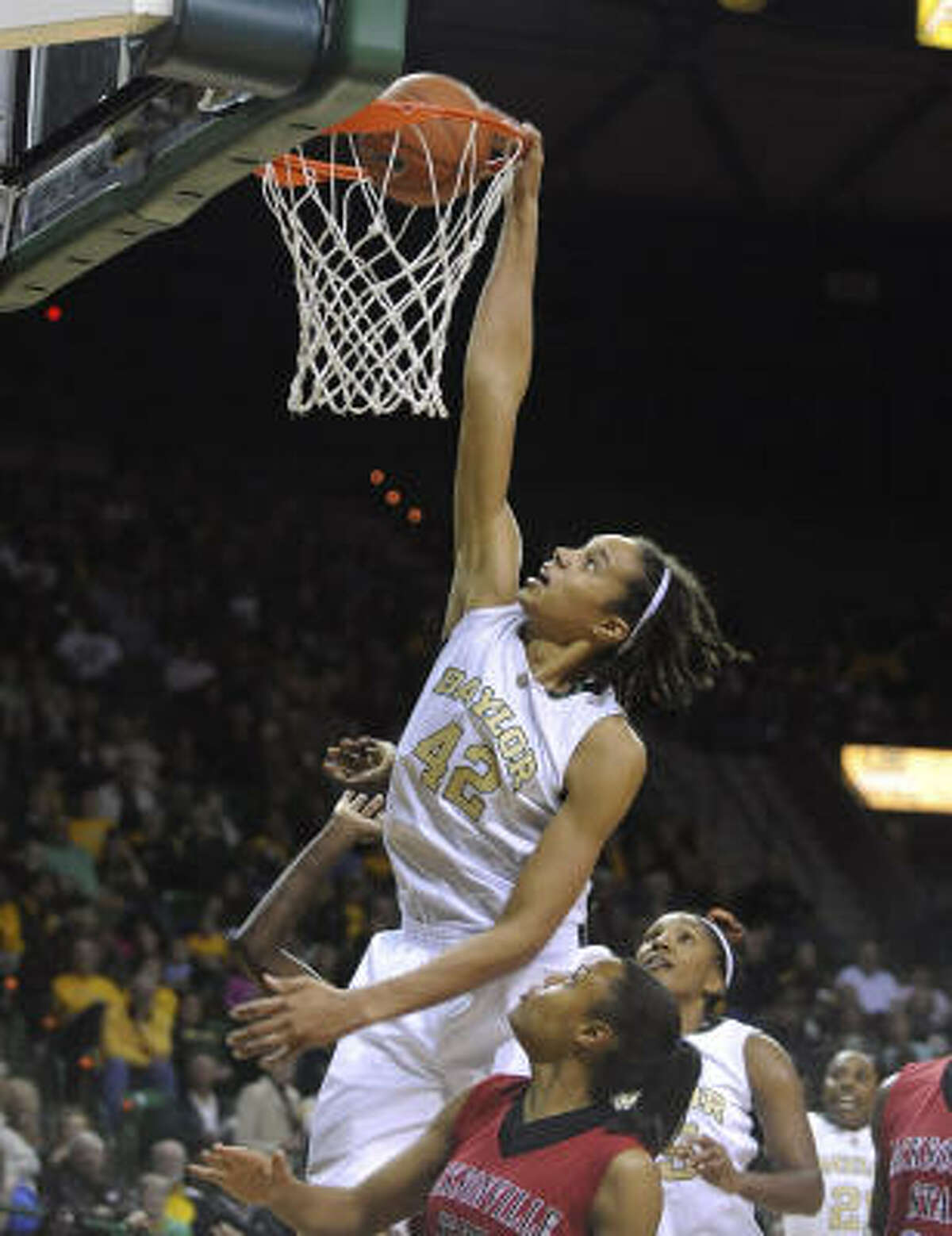 2009: Brittney Griner, Nimitz Helped lead Baylor to the NCAA women's Final Four this season, was the Big 12 Freshman of the Year, set the NCAA single-season record for blocked shots (223).