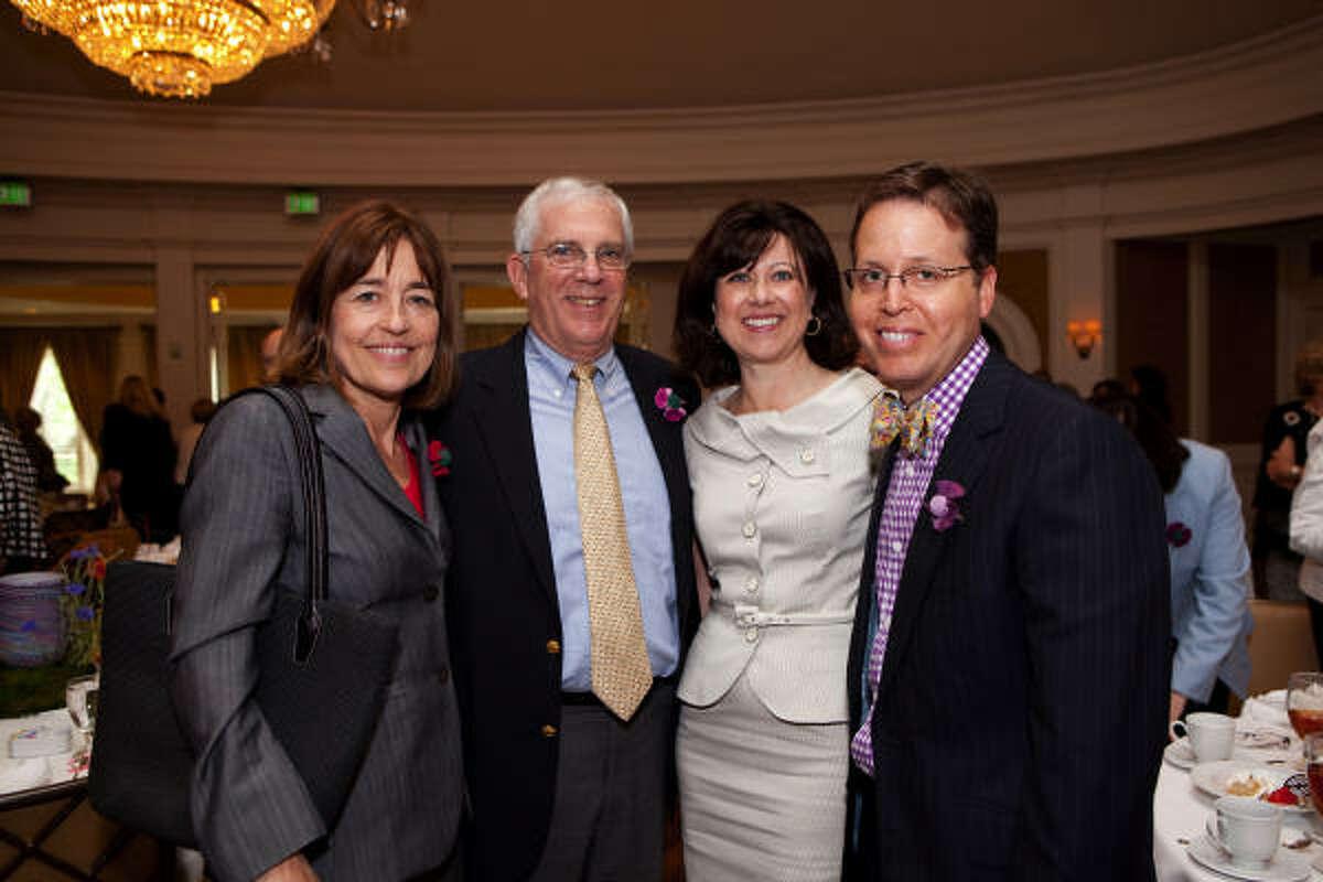 Andrea White, Richard Rabinow, Sarah Rabinow Pesikoff and David Pesikoff
