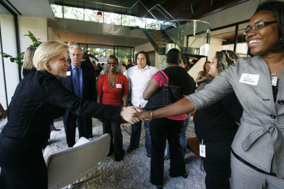 Dionhe Babieaux meets Patricia Arquette