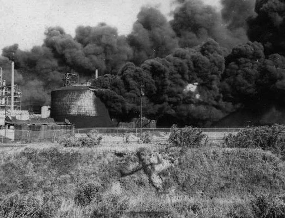 Texas City disaster. Photo: Story Sloane Jr.
