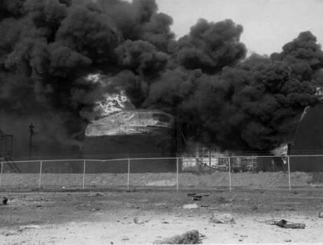 April 16, 1947: Texas City explosion.Read more: Newly discovered photos show extent of destruction Photo: Story Sloane Jr.