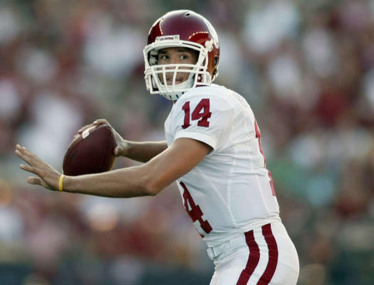 St. Louis Rams Oklahoma quarterback Sam Bradford