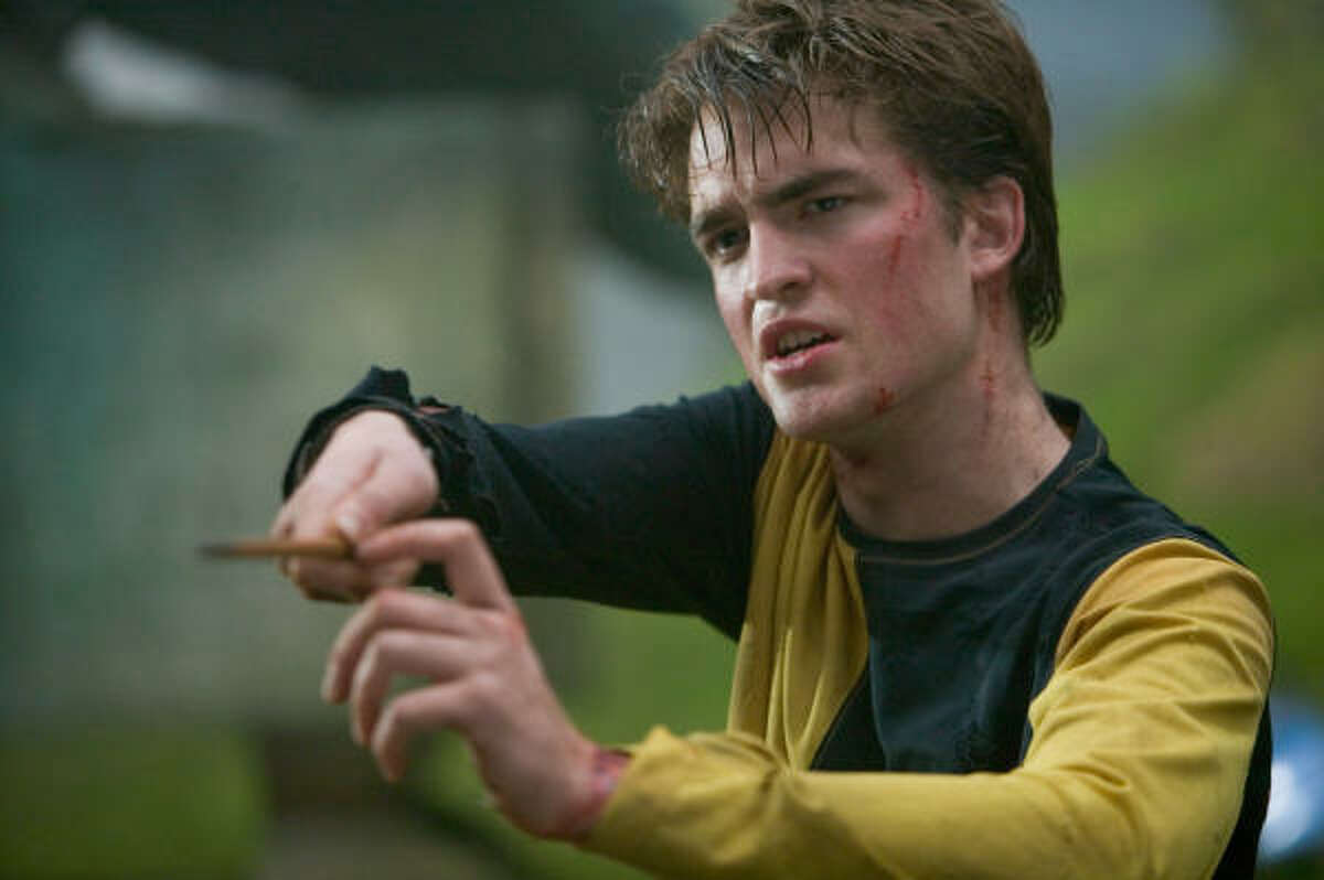 He started off as Cedric Diggory the Harry Potter films.
