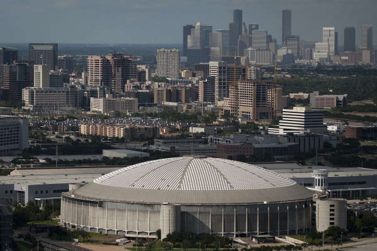The Astrodome was constructed in 1965 at an original cost of $35.5 million. More than a decade after its professional teams moved out, the Astrodome carries as much as $32 million in debt - nearly as much as the original cost of construction.