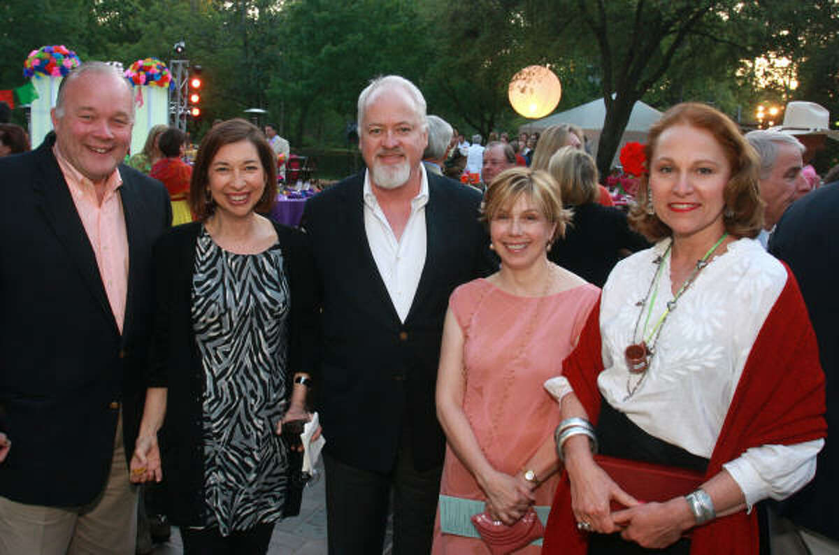 Peter Boesel, from left, Lynn Kelly, Ty Kelly, Belinda Munzell and Minnette Boesel