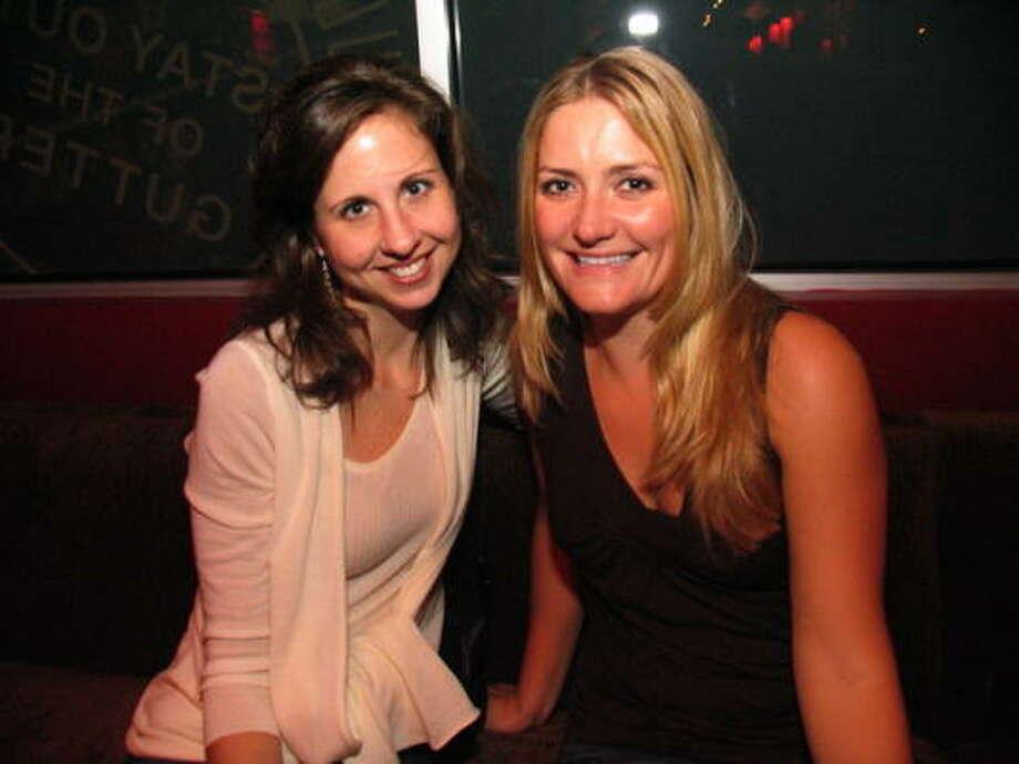 Kris Guthrie, left, and Jen Heitmann Photo: Jordan Graber, For The Chronicle