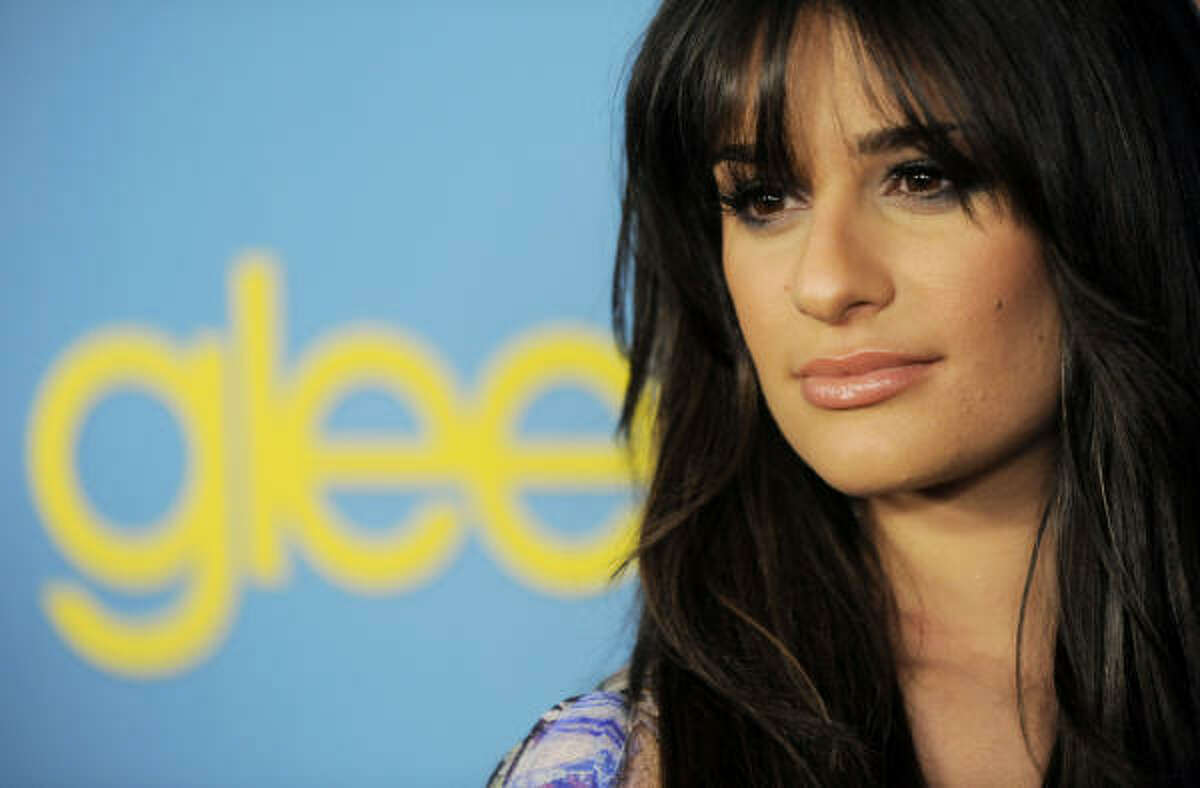 Lea Michele, a cast member in the television series
