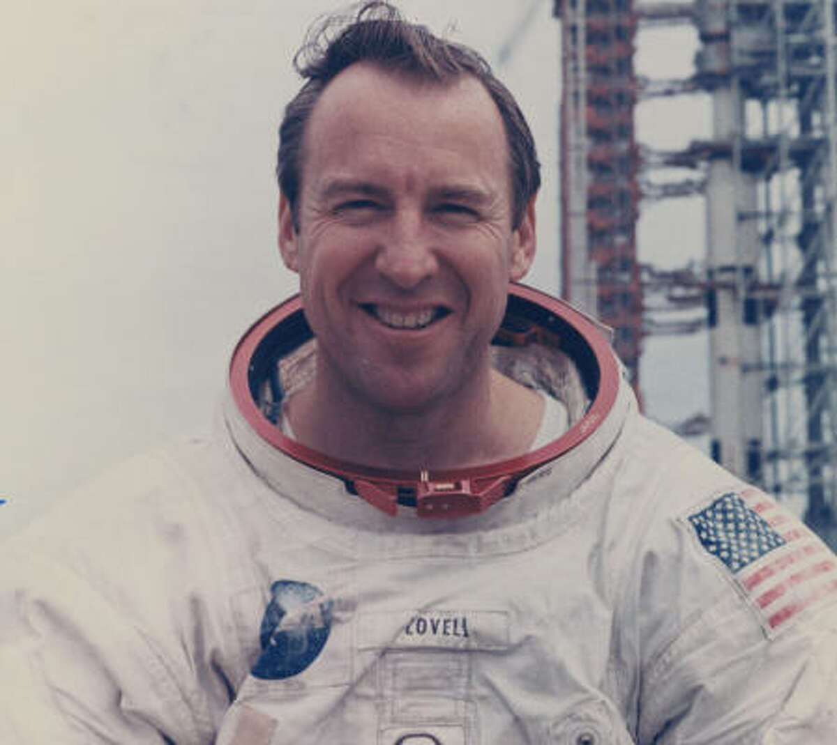 Astronaut James Lovell Jr. was commander of the Apollo 13 lunar landing mission that developed problems in space, leading to his now-famous utterance.