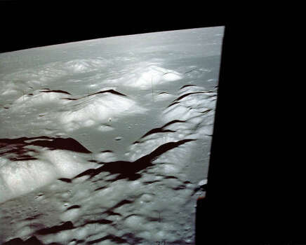 The Taurus Littrow valley, landing site for Apollo 17. Photo: NASA File