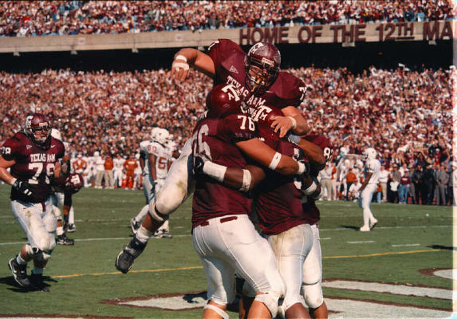 Texas A&M, 1999Preseason ranking: 7Final record: 8-4The Aggies lost to Texas Tech, Oklahoma and Nebraska -- all on the road -- during the regular season. This campaign is remembered for their emotional win over Texas after the tragic Bonfire collapse that killed 12 Aggies.