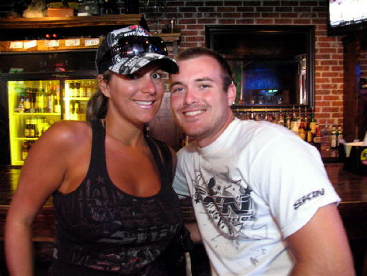 Marisa Wall, left, and Stephen Cousin
