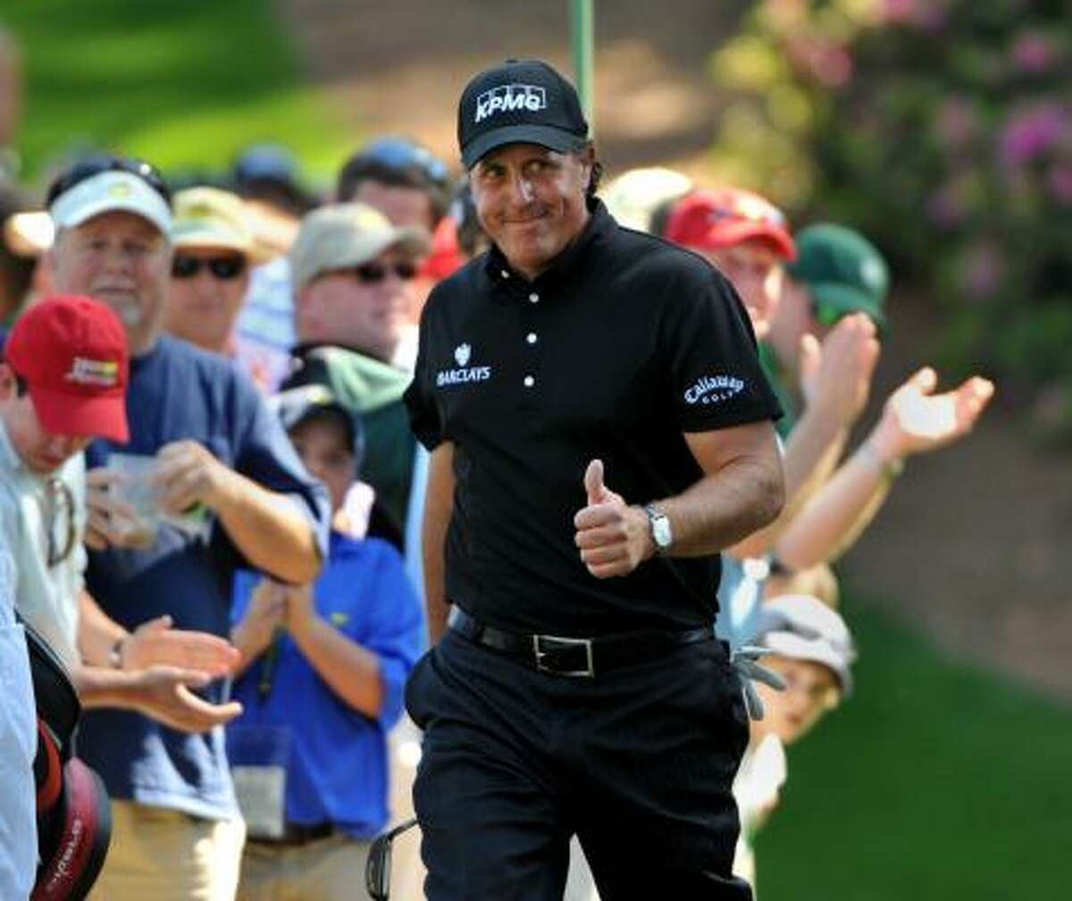 Phil Mickelson won his third Masters after finishing 16-under-par.