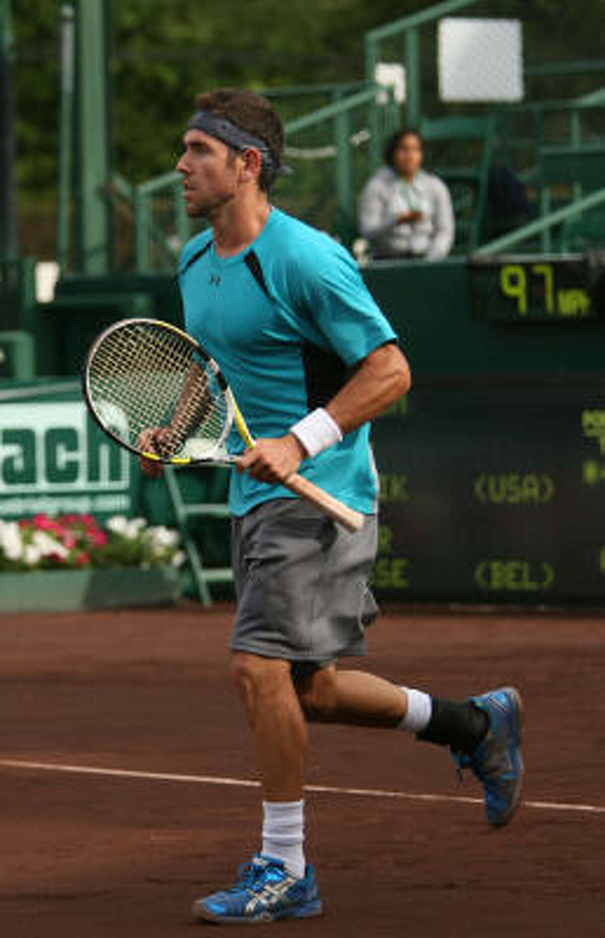 Wayne Odesnik was in top form during Friday's win over Xavier Malisse.