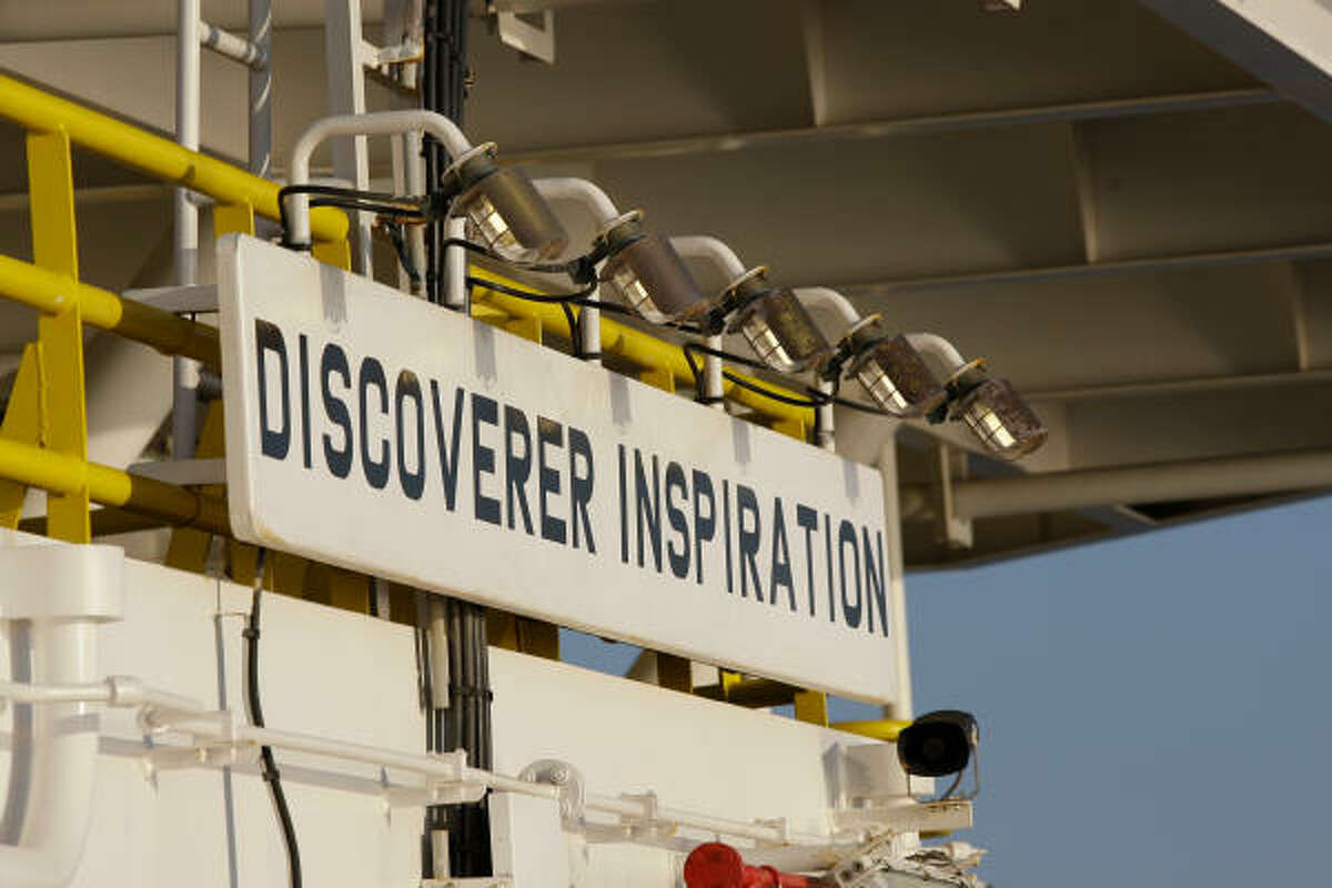 Chevron is drilling an exploration well into Moccasin Prospect on Transocean's Discoverer Inspiration, an ultra-deepwater drillship.