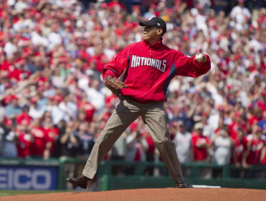 PRESIDENTIAL FIRST PITCHES