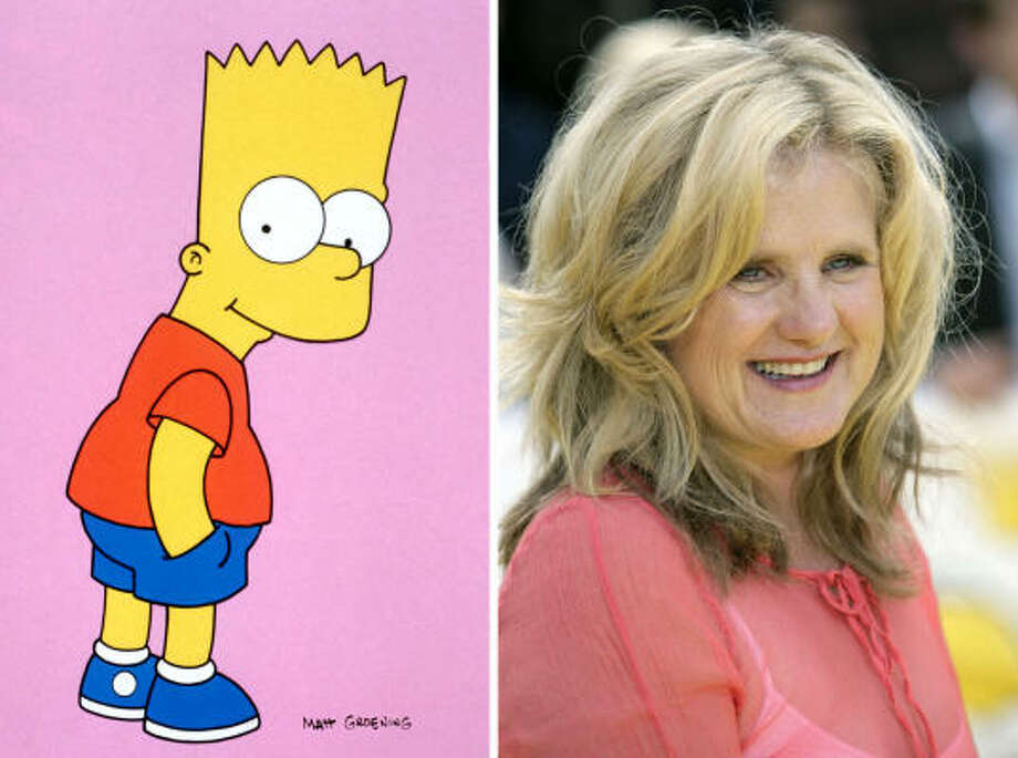 Nancy Cartwright, voice of Bart Simpson