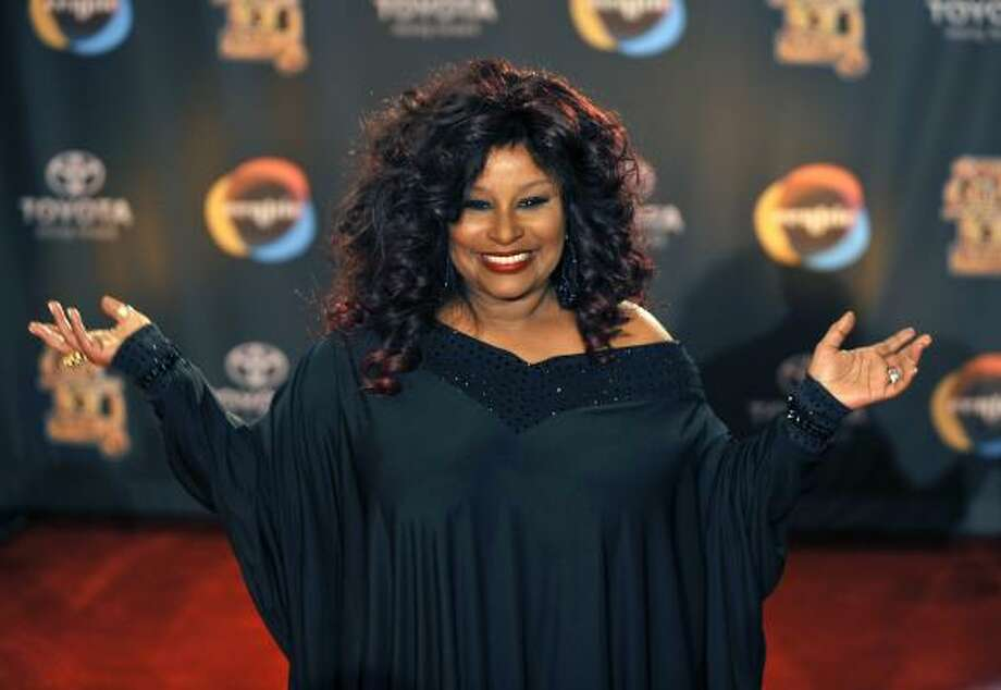 "Chaka Khan The Grammy-winning singer says she belongs to ""the religion of the Church of Chaka Khan,"" but also takes courses in Scientology for self-help. Photo: Gregory Smith, AP"