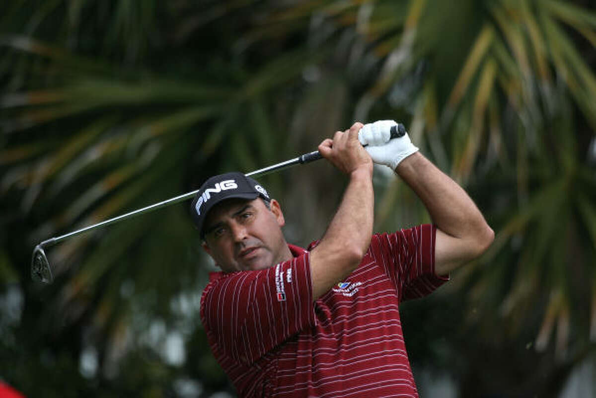 Angel Cabrera Age: 40 Country: Argentina World ranking: 31 Worldwide victories: 19 Majors: Masters, U.S. Open. Best Masters: In a span of five holes, he made a clutch birdie, saved par from a tree and won a sudden-death playoff in 2009. Backspin: A threat at Augusta National even before he won, he returns to the Masters trying to join Tiger Woods, Jack Nicklaus and Nick Faldo as the only repeat winners. The only difference? Cabrera has not won a tournament since slipping on the green jacket.