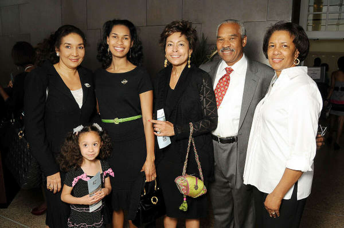 From left: Frances Brown with Farrah Reyna, Erica Littlejohn Burnette, Gail Littlejohn, Judge Bill Littlejohn and Robbie Lee