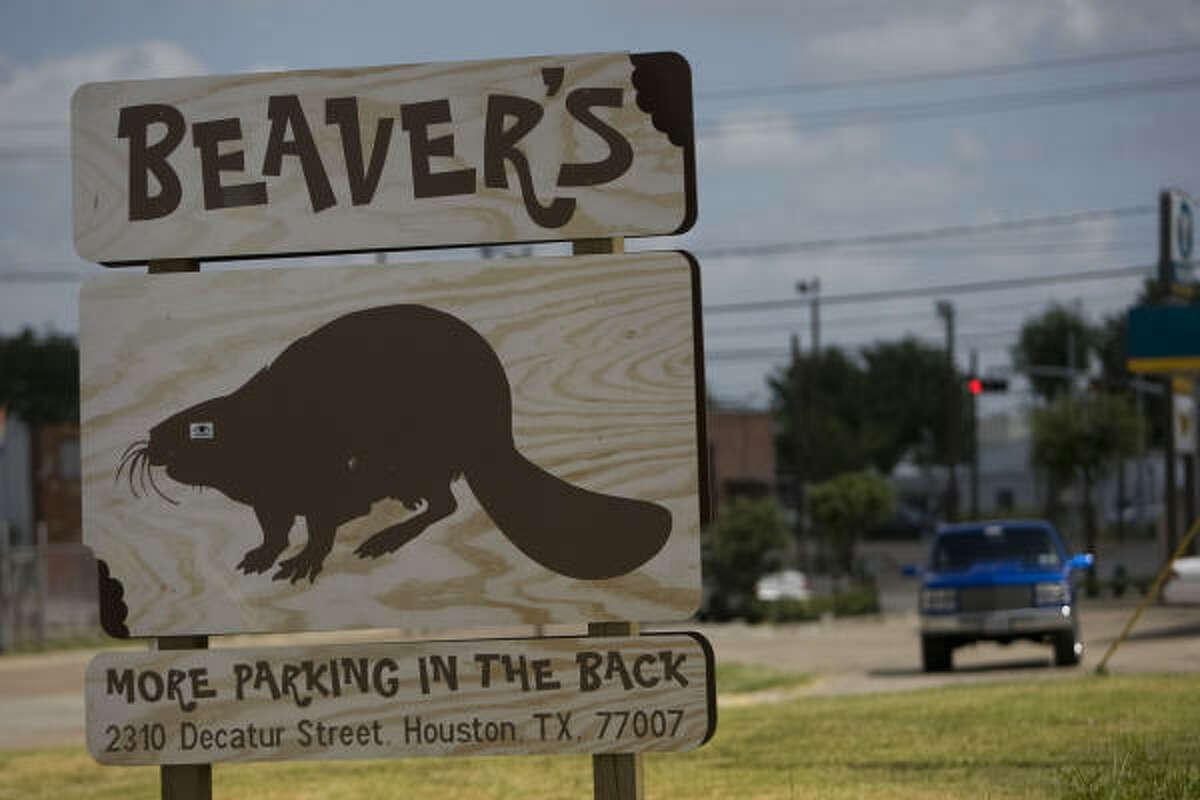 Beaver's On the 2300 block of Decatur St. just west of downtown, you'll find barbecue, plus an interesting mix of drinks to go with it.