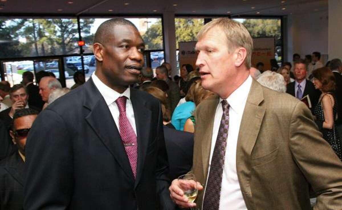 Dikembe Mutombo and Jack Sikma