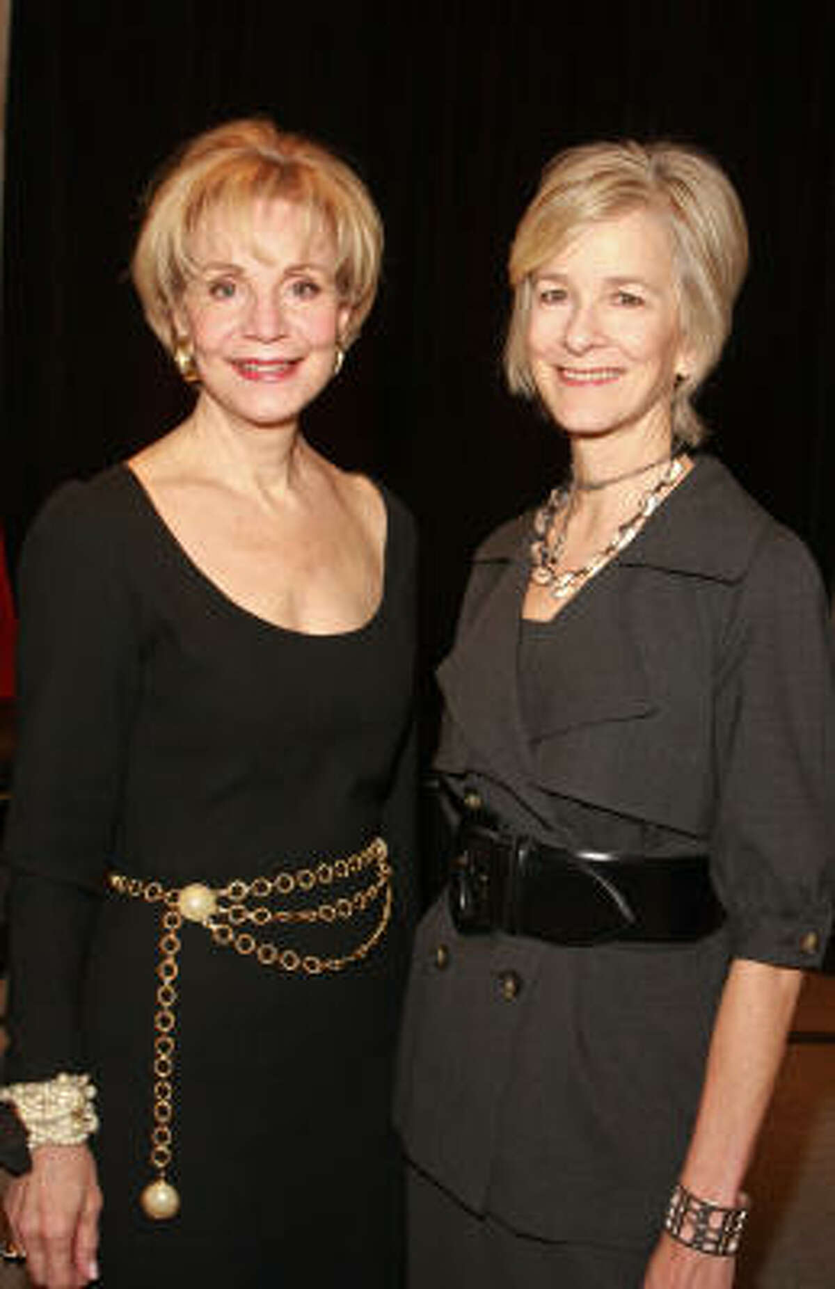 Leisa Holland-Nelson, left, and Dana Buchman