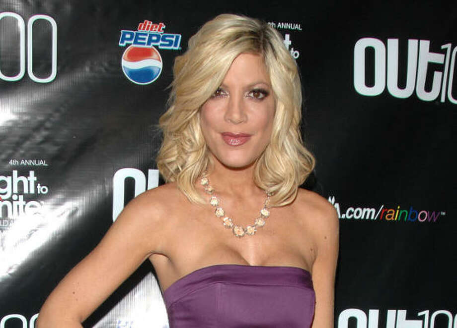 Tori Spelling has been in the limelight all her life thanks to her dad Aaron Spelling. People have been debating since she played Donna Martin on 90210 whether she's hot or not. Vote here. Photo: Peter Kramer, AP